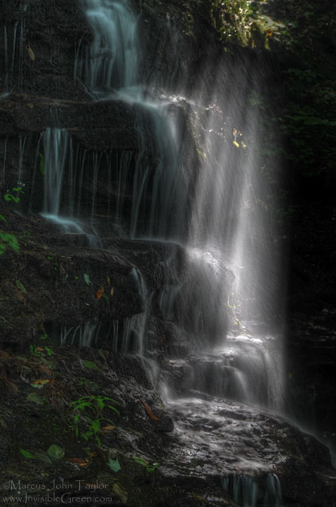 A Waterfall in a Different Light