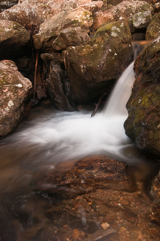 Blood Mountain Creek Cascade