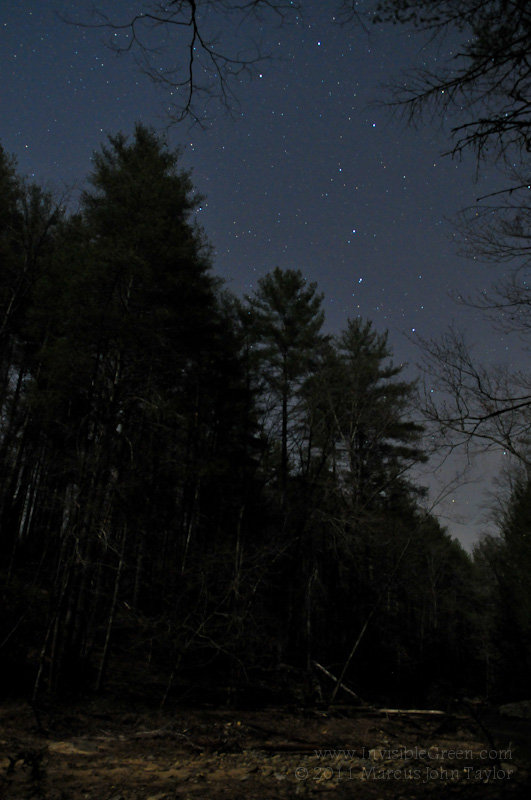 Big Dipper over Panther Creek