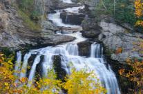 Cullasaja Falls in Autumn