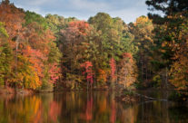 Autumn at Stone Mountain Lake II